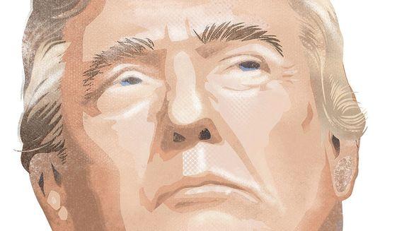 Donald Trump Illustration by Linas Garsys/The Washington Times
