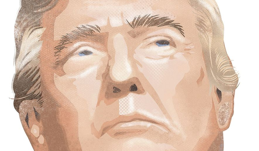 Donald Trump Illustration by Linas Garsys/The Washington Times