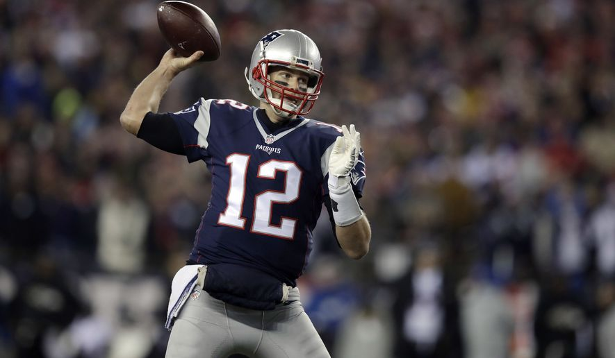 FILE -  In this Monday, Dec. 12, 2016 file photo, New England Patriots quarterback Tom Brady passes against the Baltimore Ravens during the first half of an NFL football game in Foxborough, Mass. It's not a coincidence that four superior quarterbacks are the final four left chasing a Super Bowl title. The AP examines a couple of the reasons why Tom Brady, Ben Roethlisberger, Aaron Rodgers and Matt Ryan are as good as they are, and looks at the weakness an opponent should try to exploit, Wednesday, Jan. 18, 2017. (AP Photo/Charles Krupa, File)