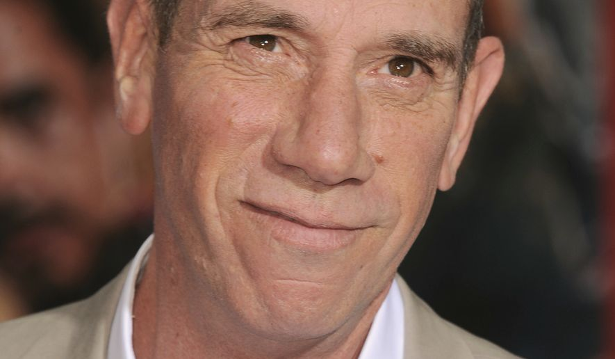 "FILE - This April 24, 2013 file photo shows actor Miguel Ferrer at the world premiere of ""Marvel's Iron Man 3"" in Los Angeles. Ferrer, who brought stern authority to his featured role on CBS hit drama NCIS: Los Angeles and, before that, to Crossing Jordan, died Thursday, Jan. 19, 2017, of cancer at his Los Angeles home. He was 61. (Photo by Jordan Strauss/Invision/AP, File)"
