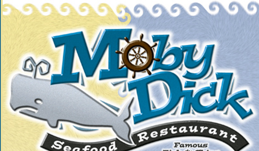 """Moby Dick Fish & Chips, a Vancouver, B.C., restaurant, is suing a building council for denying the right to post its sign, claiming the word """"dick"""" is offensive. (http://www.mobydickrestaurant.com)"""