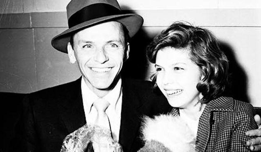 Frank Sinatra and daughter Nancy. (Facebook/Nancy Sinatra)