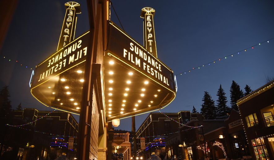 The Egyptian Theatre is pictured on the eve of the 2017 Sundance Film Festival on Wednesday, Jan. 18, 2017, in Park City, Utah. The annual film festival runs from Thursday, Jan. 19 to January 29 in Park City. (Photo by Chris Pizzello/Invision/AP)