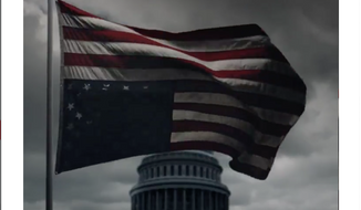 "Inauguration Day tweet by Netflix promoting the May 30 release of season five of ""House of Cards."" (Twitter)"