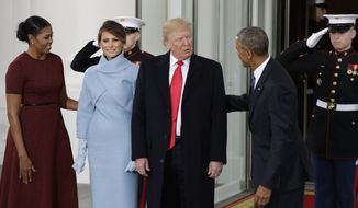 Donald Trump's inauguration as the 45th President of the United States