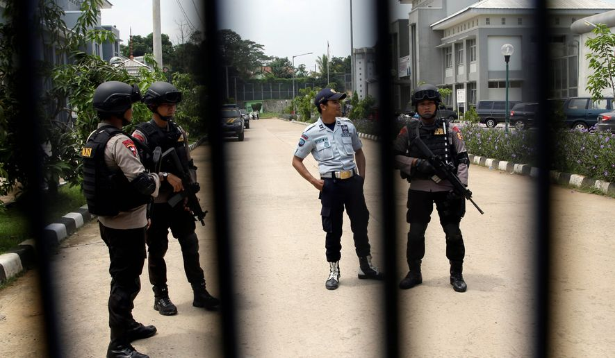 """Indonesia's prisons are ripe for recruitment by the Islamic State, says a report by the Institute for Policy Analysis of Conflict. """"Prisoners depend on outside donations for decent food. And the convicted terrorists have a well-organized support network."""" (Associated Press)"""