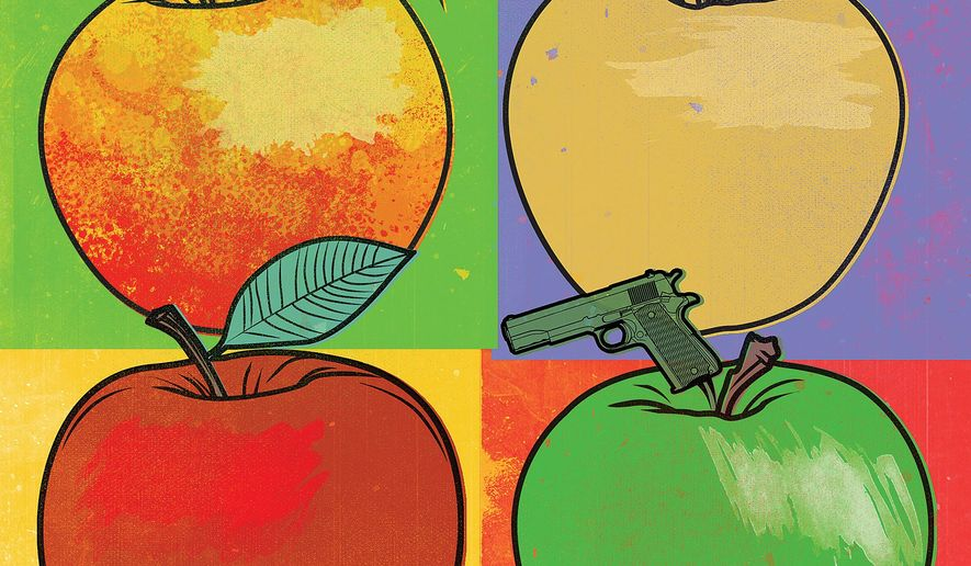 Choice to Protect Students Illustration by Linas Garsys/The Washington Times
