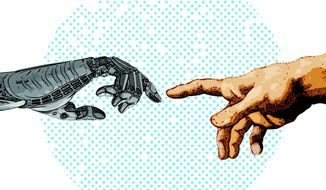 Here Come the Robots Illustration by Greg Groesch/The Washington Times