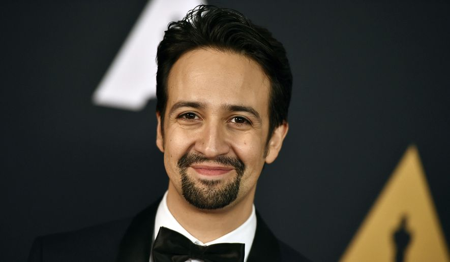 In this Nov. 12, 2016, file photo, Lin-Manuel Miranda arrives at the 2016 Governors Awards in Los Angeles.  (Photo by Jordan Strauss/Invision/AP, File)