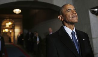President Obama had a cadre of appointees who relied on Democratic opposition research to push Trump collusion claims into the public domain. They also leaked sensitive material to news media, some of it grossly misleading, according to a congressional investigative report. (Associated Press/File)