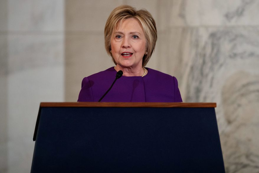 Hillary Clinton is estimated to have collected 81 percent of noncitizen votes, which may have helped her carry a state, a researcher says. (Associated Press) ** FILE **