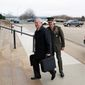 Secretary of Defense James N. Mattis (left) and Gen. Joseph F. Dunford, chairman of the Joint Chiefs of Staff, met at the Pentagon last weekend. (Associated Press)