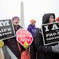A rally before the March for Life at the Washington Monument will feature members of the Trump administration, lawmakers and other high-profile activists. The largest pro-life gathering in the world is in its 44th year. (Associated Press)