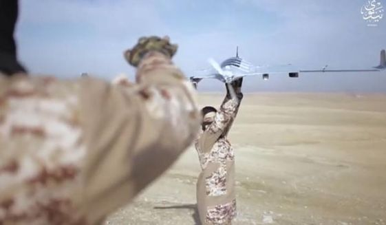 Image from Islamic State video.