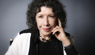 In this Oct. 26, 2016 photo, Lily Tomlin poses for a portrait in Los Angeles. Tomlin will receive the lifetime achievement award at the Screen Actors Guild Awards on Sunday. (Photo by Rich Fury/Invision/AP)