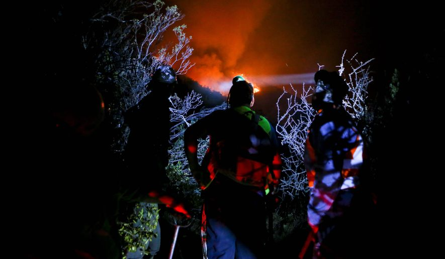 One of Chile's worst fire waves on record shows its vulnerability to terrorism. Forest fires intentionally set have resulted in over $200 million in damage and about a dozen deaths. Some investigators suspect anarchists and indigenous militants are to blame. (Associated Press)