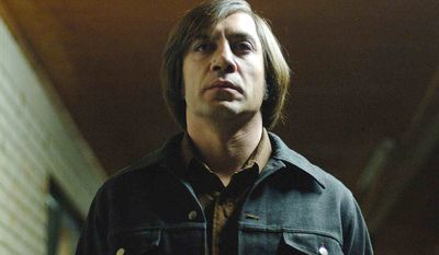 Javier Bardem as Anton Chigurh in 'No Country for Old Men' - Best Supporting Actor (2007)