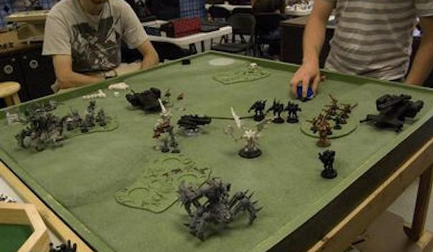 Warhammer 40,000 is a tabletop miniature wargame produced by Games Workshop. (Wikipedia)