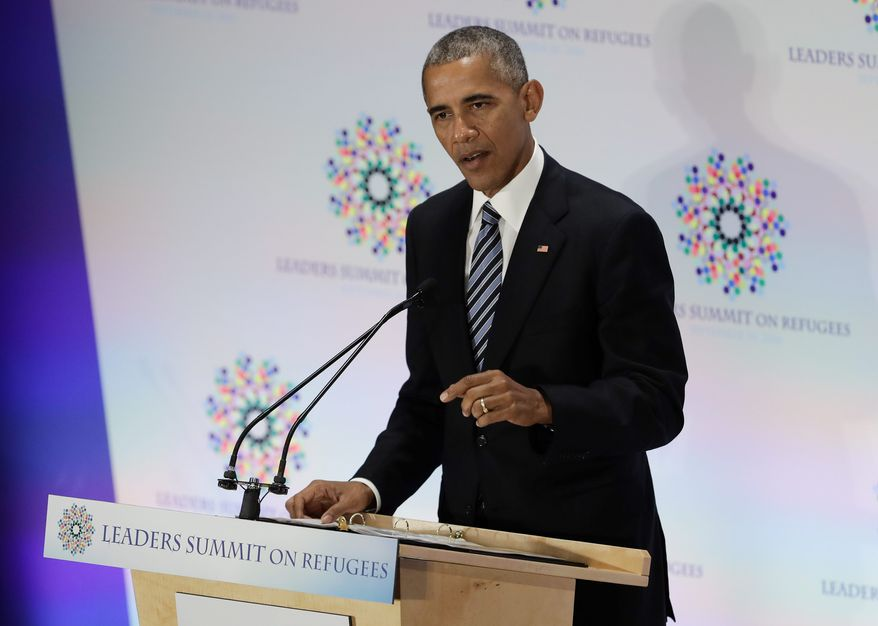 President Obama imposed a temporary freeze on refugees to tighten a shaky vetting process, but once the freeze was lifted, there was still no reliable way to distinguish terrorists from peaceful refugees or legitimate travelers, jihadi analysts say. (Associated Press)
