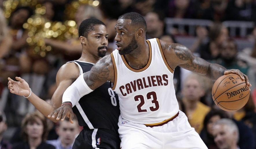 """Cavaliers forward LeBron James called former NBA star and current TV commentator Charles Barkley """"a hater"""" for critical comments about the Cleveland front office. (Associated Press)"""