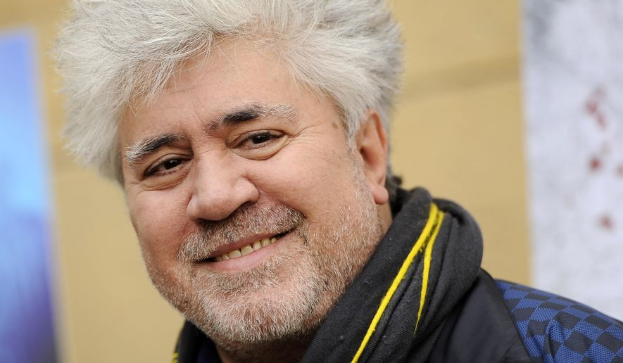 "FILE - In this Jan. 14, 2012 file photo, Pedro Almodovar of Spain, director of the Golden Globe-nominated foreign language film ""The Skin I Live In,"" poses at the Golden Globe Foreign Language Nominees Seminar in Los Angeles. Cannes Film Festival organizers have announced that flamboyant Spanish filmmaker Pedro Almodovar is to be head of the jury for May's festival that celebrates its 70th anniversary this year. (AP Photo/Chris Pizzello, file)"