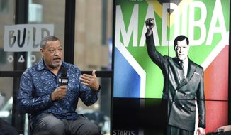 "Actor Laurence Fishburne participates in the BUILD Speaker Series to discuss the television miniseries, ""Madiba"", at AOL Studios on Thursday, Jan. 26, 2017, in New York. (Photo by Evan Agostini/Invision/AP)"