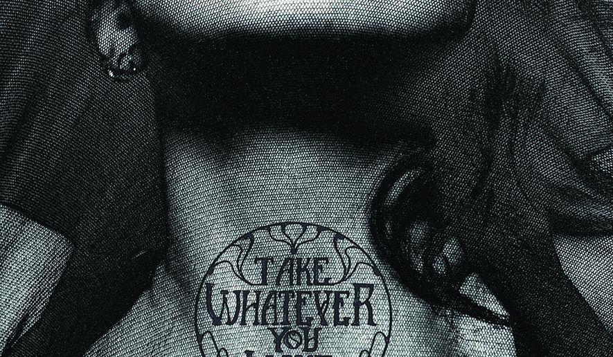 "This cover image released by Alien Shrimp Records shows ""Take Whatever You Want,"" the debut album for Emily Estefan. (Alien Shrimp Records via AP)"