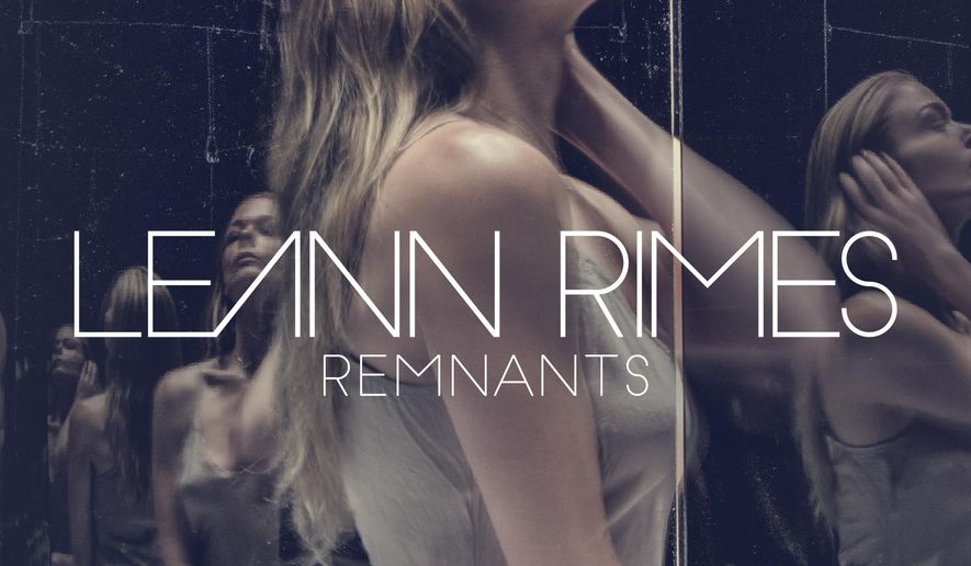 "This cover image released by RCA shows ""Remnants,"" a release by Leann Rimes. (RCA via AP)"