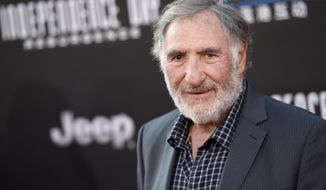 """FILE - This June 20, 2016 file photo shows Judd Hirsch at the premiere of """"Independence Day: Resurgence"""" in Los Angeles. Hirsch stars in the new comedy series, """"Superior Donuts,"""" premiering Thursday, Feb. 2, 2017 on CBS. (Photo by Chris Pizzello/Invision/AP, File)"""