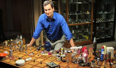 "This undated image released by WGBH shows David Pogue from NOVA's ""Hunting the Elements."" NOVA is partnering with Pogue in a Kickstarter campaign that invites fans and science lovers to take part in the production of ""Beyond the Elements,"" a new cross-platform project that explores how molecules make up our entire known universe. (Cara Feinberg/WGBH via AP)"