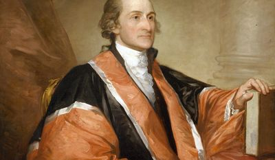 John Jay         From the painting by Gilbert Stuart