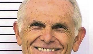 FILE - This March 12, 2014 file photo provided by the California Department of Corrections and Rehabilitation shows Bruce Davis. A 74-year-old former follower of cult killer Charles Manson is scheduled for another parole hearing Wednesday, Feb. 1, 2017, after California governor blocked previous recommendations that he be released from prison. (Department of Corrections and Rehabilitation via AP, File)