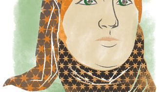 Illustration of Linda Sarsour by Linas Garsys/The Washington Times