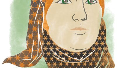 Illustration of Linda Sarsour by Linas Garsys/The Washington Times