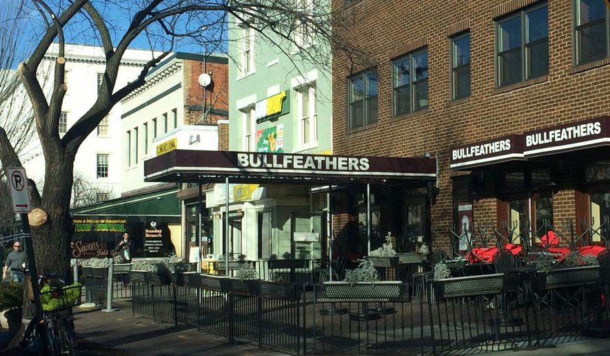 Metro station closures this weekend will inconvenience employees at Bullfeathers, located near the Capitol South station, according to the bar's general manager. (Julia Brouillette/The Washington Times)
