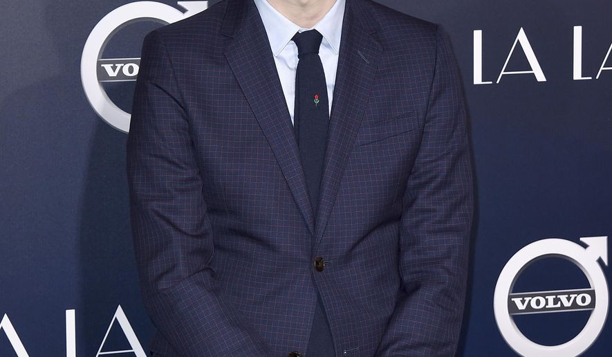 """FILE - This Dec. 6, 2016 file photo shows director Damien Chazelle at the premiere of """"La La Land"""" in Los Angeles. At the center of this year's Oscars are two filmmakers in their 30s with seemingly limitless careers ahead of them.  Barry Jenkins, the 37-year-old director of """"Moonlight,"""" and Chazelle, the 32-year-old maker of """"La La Land."""" Both films have 22 nominations between them. (Photo by Jordan Strauss/Invision/AP, File)"""