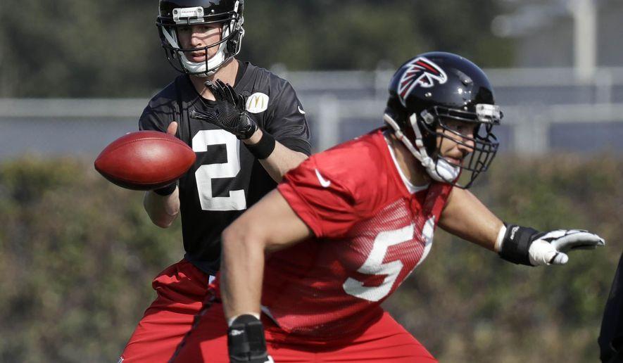 Falcons Concerned About Ailing Pro Bowl C Alex Mack Washington Times