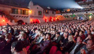 The Arlington Theatre during last year's Santa Barbara International Film Festival.  (Noozhawk.com)
