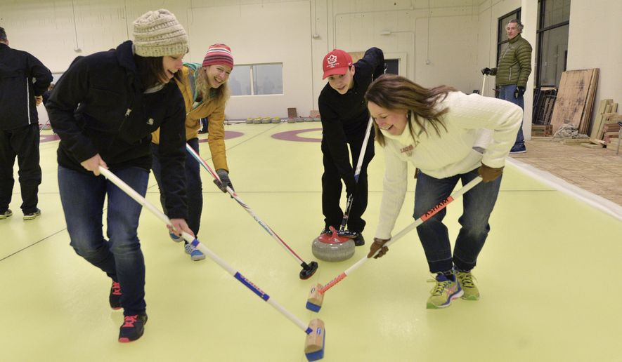 Curling Is Cool In Lakeville Where The Ice Is Always Smooth