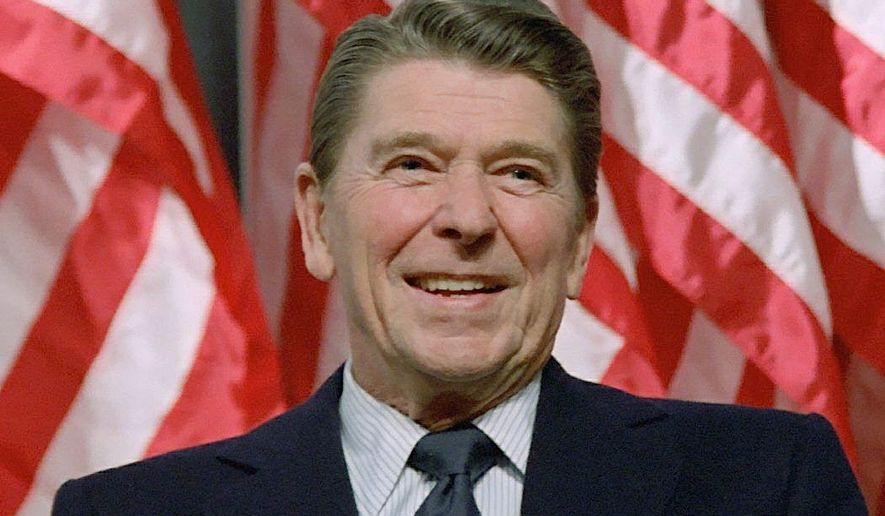 CNN debuts a new documentary on Ronald Reagan on Monday night.  (File photo)