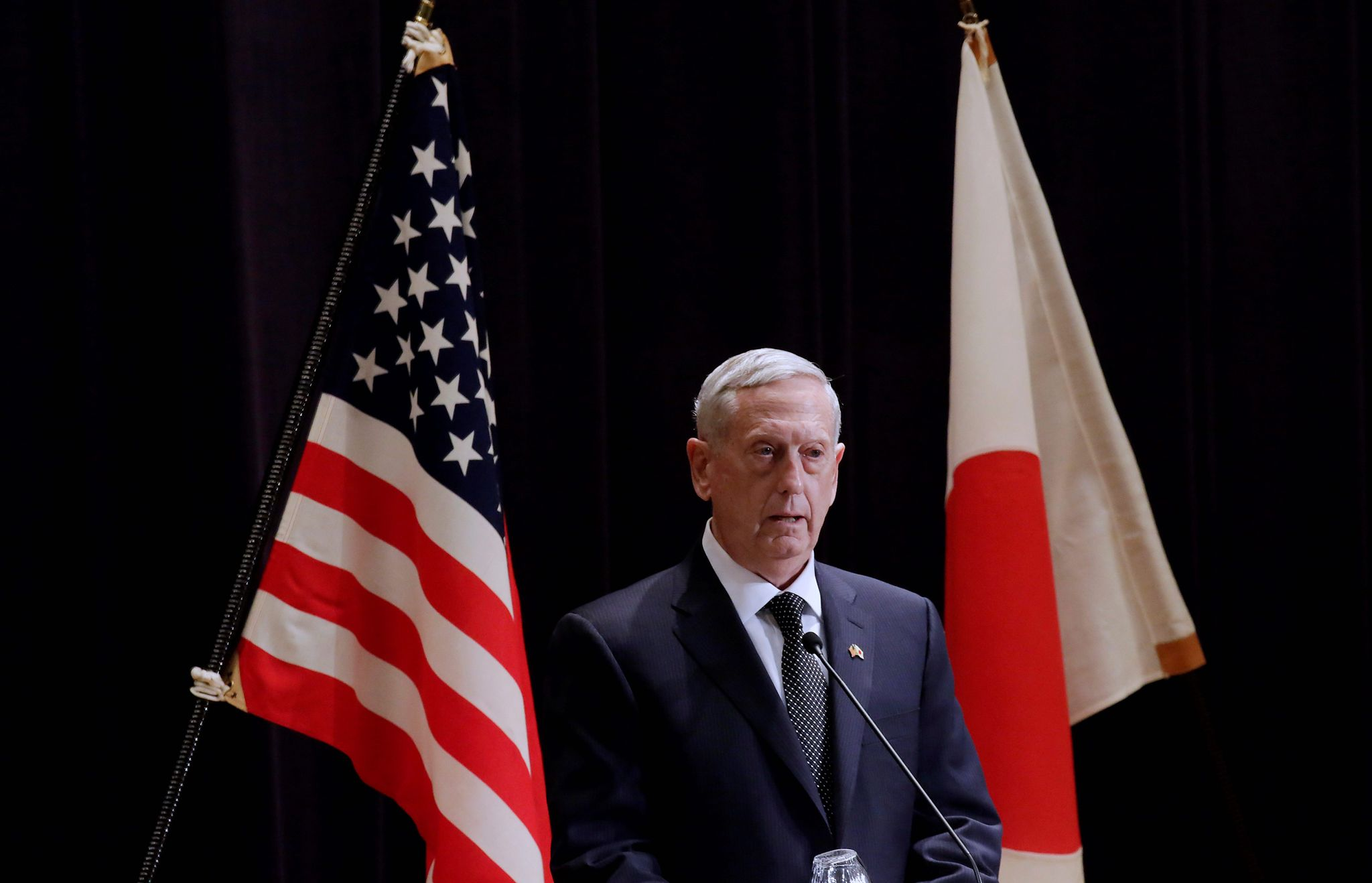 James Mattis: U.S. forces likely to stay in Okinawa amid China tensions