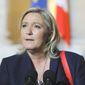 Marine Le Pen (Associated Press) ** FILE **