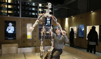 As robots become more like humans, humans are concerned about their ability to kill. (Associated Press/File)