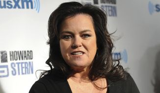 Television personality Rosie O'Donnell attends Howard Stern's Birthday Bash, presented by SiriusXM in New York, on Jan. 31, 2014. (Associated Press) **FILE**