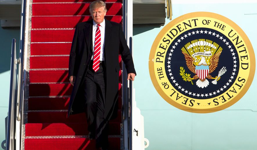 Americans are optimistic since President Trump took over at the White House, with businesses overwhelmingly expecting improvements. (Associated Press)