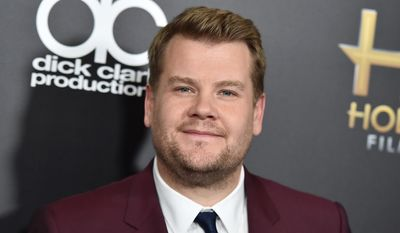 In this Nov. 1, 2015, file photo, James Corden arrives at the Hollywood Film Awards in Beverly Hills, Calif. (Photo by Jordan Strauss/Invision/AP, File)