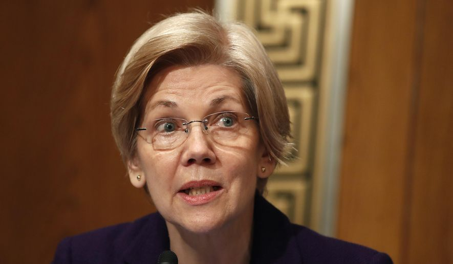 Sen. Elizabeth Warren of Massachusetts had progressives calling for her to run for president in 2020 after a clash with the Senate majority leader in February. Republicans signaled that they would be happy to have Ms. Warren as the face of the Democratic Party. (Associated Press/File)