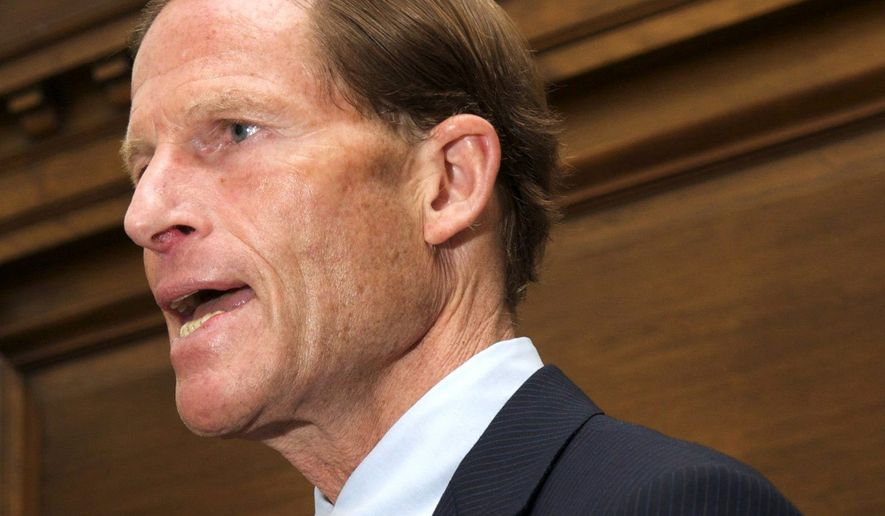 Sen. Richard Blumenthal (Associated Press) ** FILE **