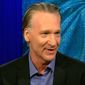 "HBO ""Real Time"" host Bill Maher joked on Feb. 9. 2017, that he would become a Mormon if Mitt Romney would ""take over"" the U.S. as a replacement for President Donald Trump. (CNN screenshot)"