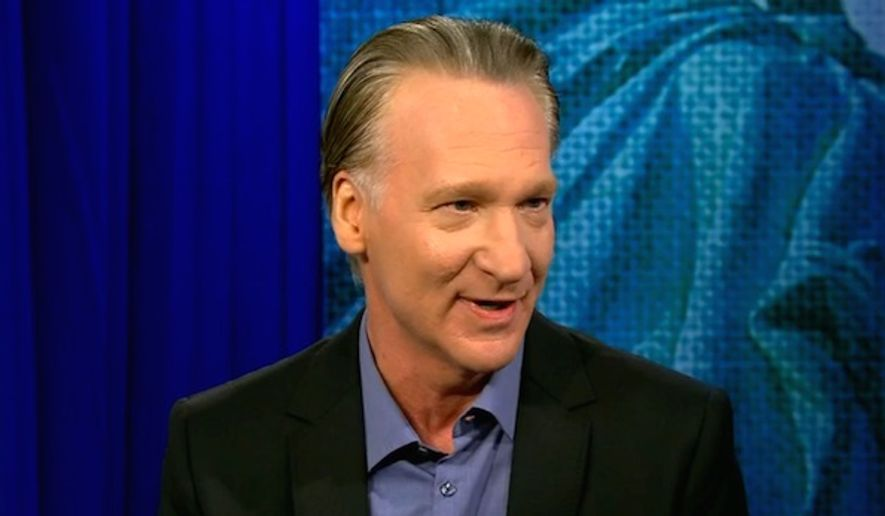 """HBO """"Real Time"""" host Bill Maher joked on Feb. 9. 2017, that he would become a Mormon if Mitt Romney would """"take over"""" the U.S. as a replacement for President Donald Trump. (CNN screenshot)"""
